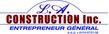 L.A. Construction Inc. Logo