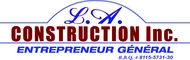 L.A. Construction Inc. Logo